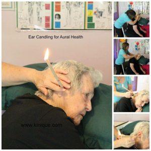 Ear Candling Procedure