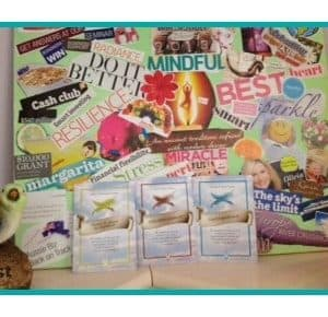 Thumbnail vision board